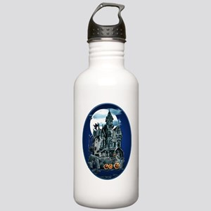 Haunted House Oval Tra Stainless Water Bottle 1.0L
