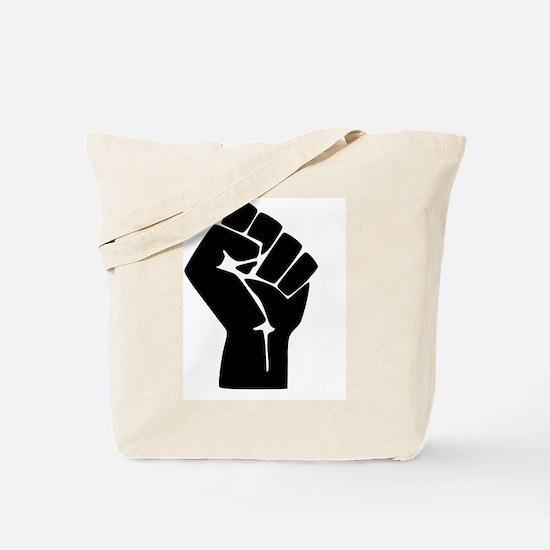 Funny Fist Tote Bag