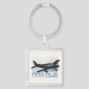 Aircraft Piper PA-28 Keychains