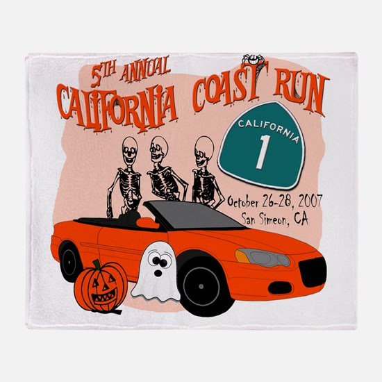 2-sebringCRshirt2 Throw Blanket
