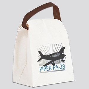 Aircraft Piper PA-28 Canvas Lunch Bag