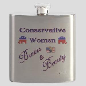Conservative Women Flask