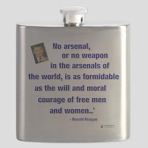 Reagan courage Flask