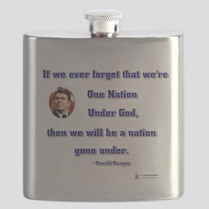 reagan nation under god Flask
