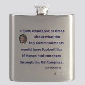 reagan ten commandments Flask