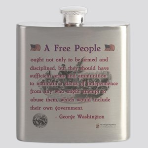 a free people Flask