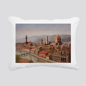 Florence, Italy Rectangular Canvas Pillow