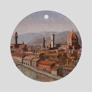 Florence, Italy Round Ornament