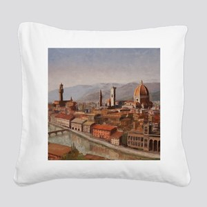 Florence, Italy Square Canvas Pillow