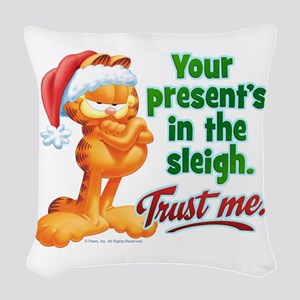 Trust Me Woven Throw Pillow