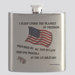 2-blanket of freedom son in law Flask