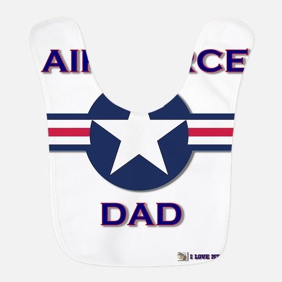 AIR FORCE DAD.png Bib