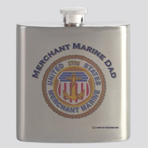 merchant Marine dad Flask