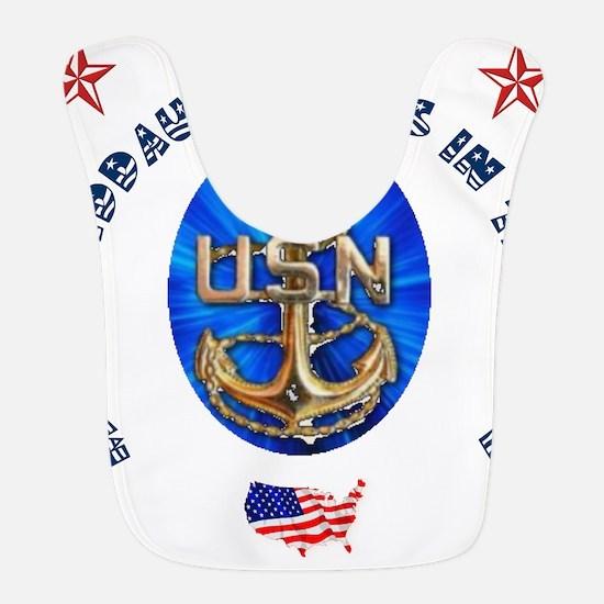 navy Granddaughter.png Bib