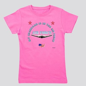 air force grandson Girl's Tee