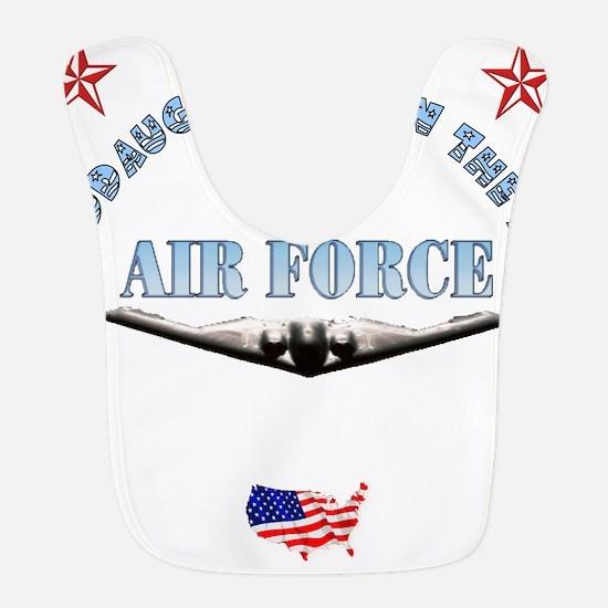 air force granddaughter.png Bib