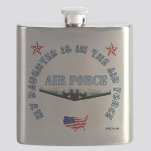 air force daughter Flask