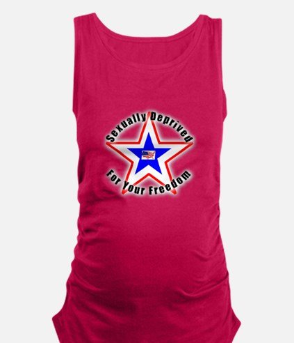 Sexually Deprived.png Maternity Tank Top