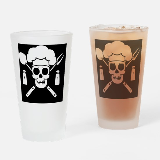 chef-pirate-TIL Drinking Glass