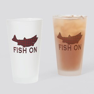 Fish on 2 Drinking Glass