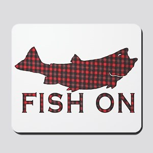Fish on 2 Mousepad