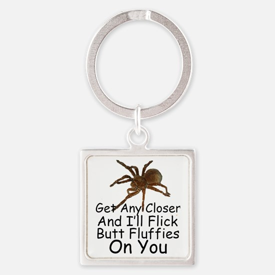 birdeater Square Keychain