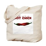 Hot Chick Tote Bag