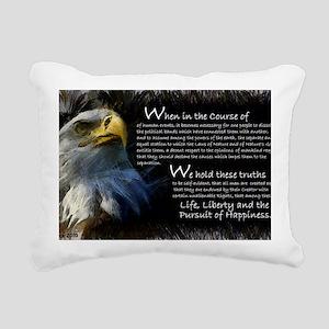 Wheninthecourse Rectangular Canvas Pillow