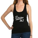 Bacon 247 Racerback Tank Top