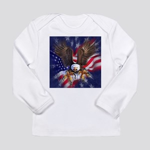 Patriotic Eagle Long Sleeve T-Shirt