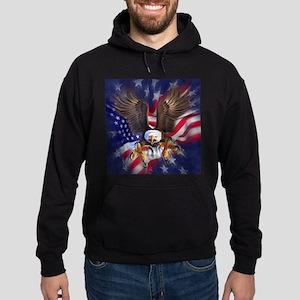 Patriotic Eagle Hoodie