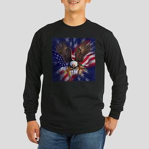 Patriotic Eagle Long Sleeve T-Shirt