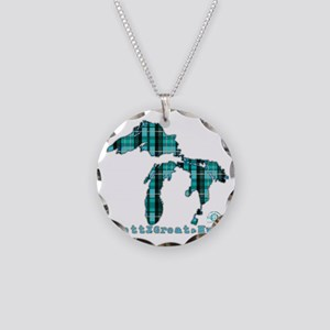 2-greatlakes Necklace Circle Charm