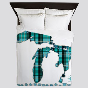 2-greatlakes Queen Duvet