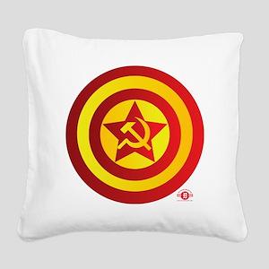 2-CapRus Square Canvas Pillow