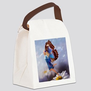 Fairy Butterfly Canvas Lunch Bag