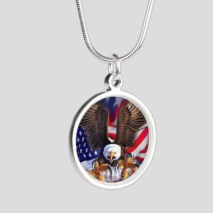 Patriotic Eagle Necklaces