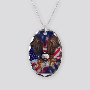 Patriotic Eagle Necklace