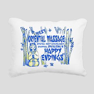 Happy Endings Rectangular Canvas Pillow