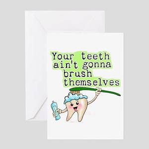 Funny Dental Humor Greeting Card
