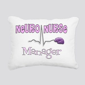 Neuro Nurse Manager Rectangular Canvas Pillow