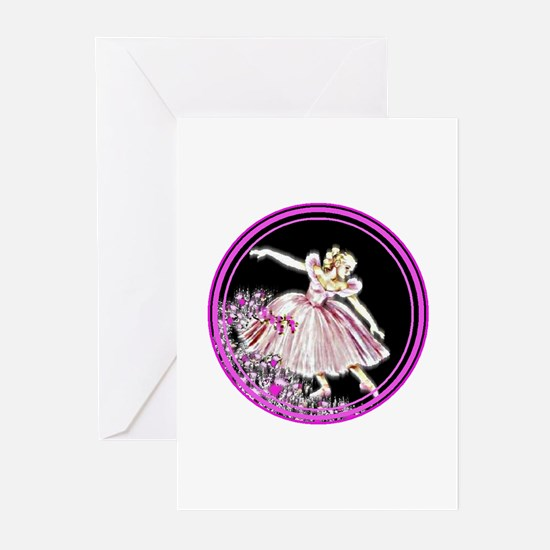 Woman's Ballet #1 - Greeting Cards (Pk of 10)