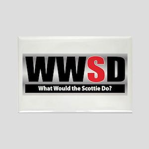 WWSD Rectangle Magnet