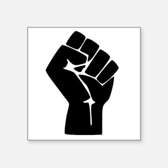 Fist Resistance Resist Protest March Sticker
