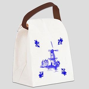 Dutchtile2b Canvas Lunch Bag