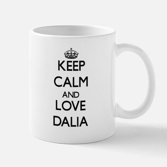 Keep Calm and Love Dalia Mugs