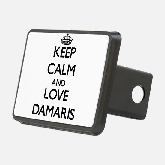 Keep Calm and Love Damaris Hitch Cover