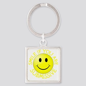 CP-T sub yellow Square Keychain