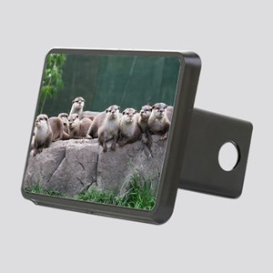 Otter family Rectangular Hitch Cover