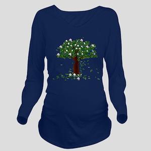 MAGNOLIA TREE Long Sleeve Maternity T-Shirt